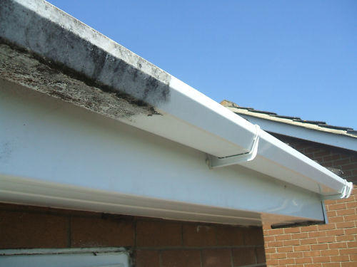 Soffit, facia and gutter cleaning